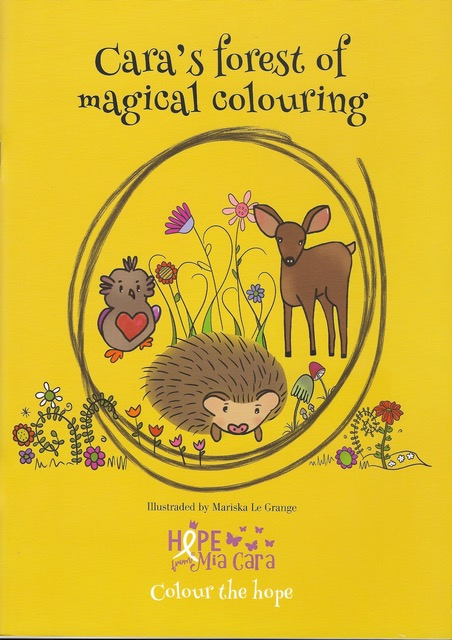 Cara's Forest of Magical Colouring